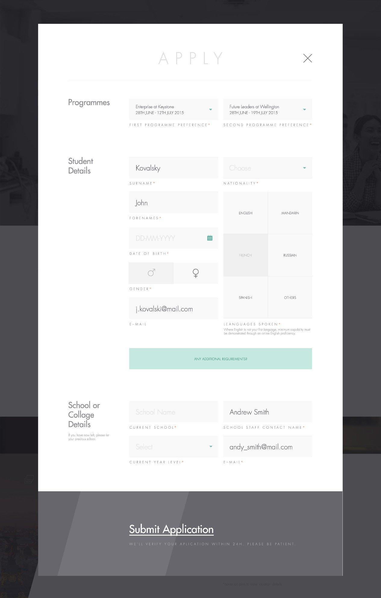 web表单设计的思考