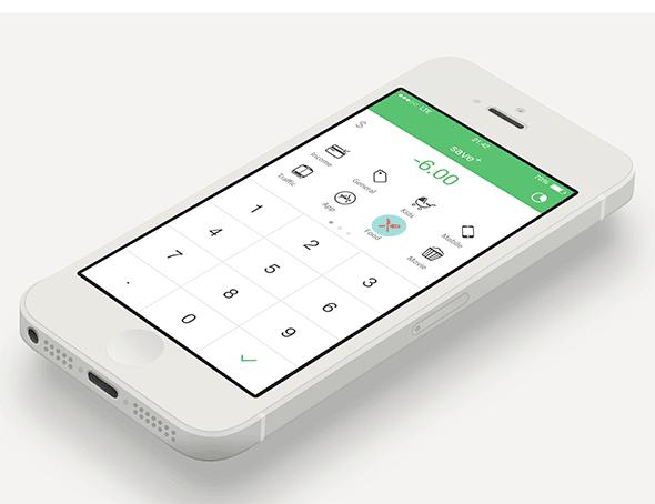 一次移动记账 App 的设计探索